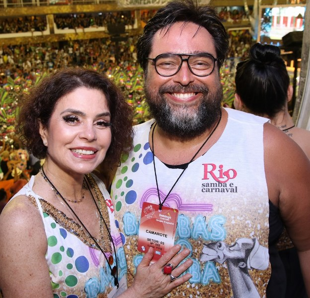 Françoise Fourton e Eduardo Barata