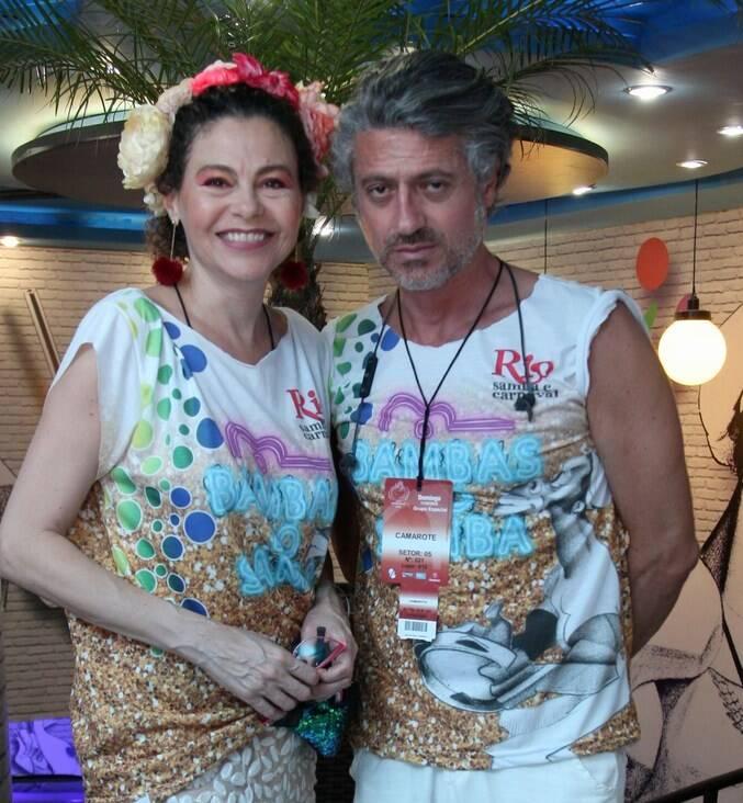 Yara Figueiredo e Nicolas Martin Ferreira
