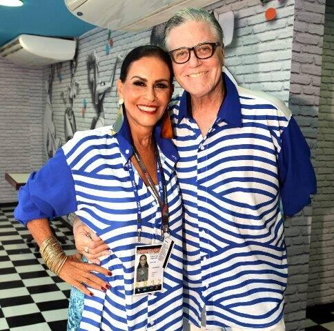 Beth Pinto Guimarães e Claudio Lobato