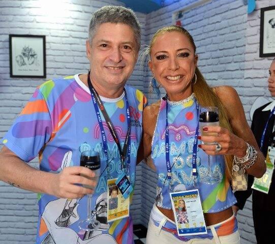 Bernard Casteja e Cristina Leite