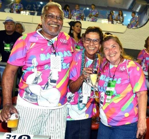 Luiz Ricardo Pereira, Carolina Granato e Maria Teresa Granato