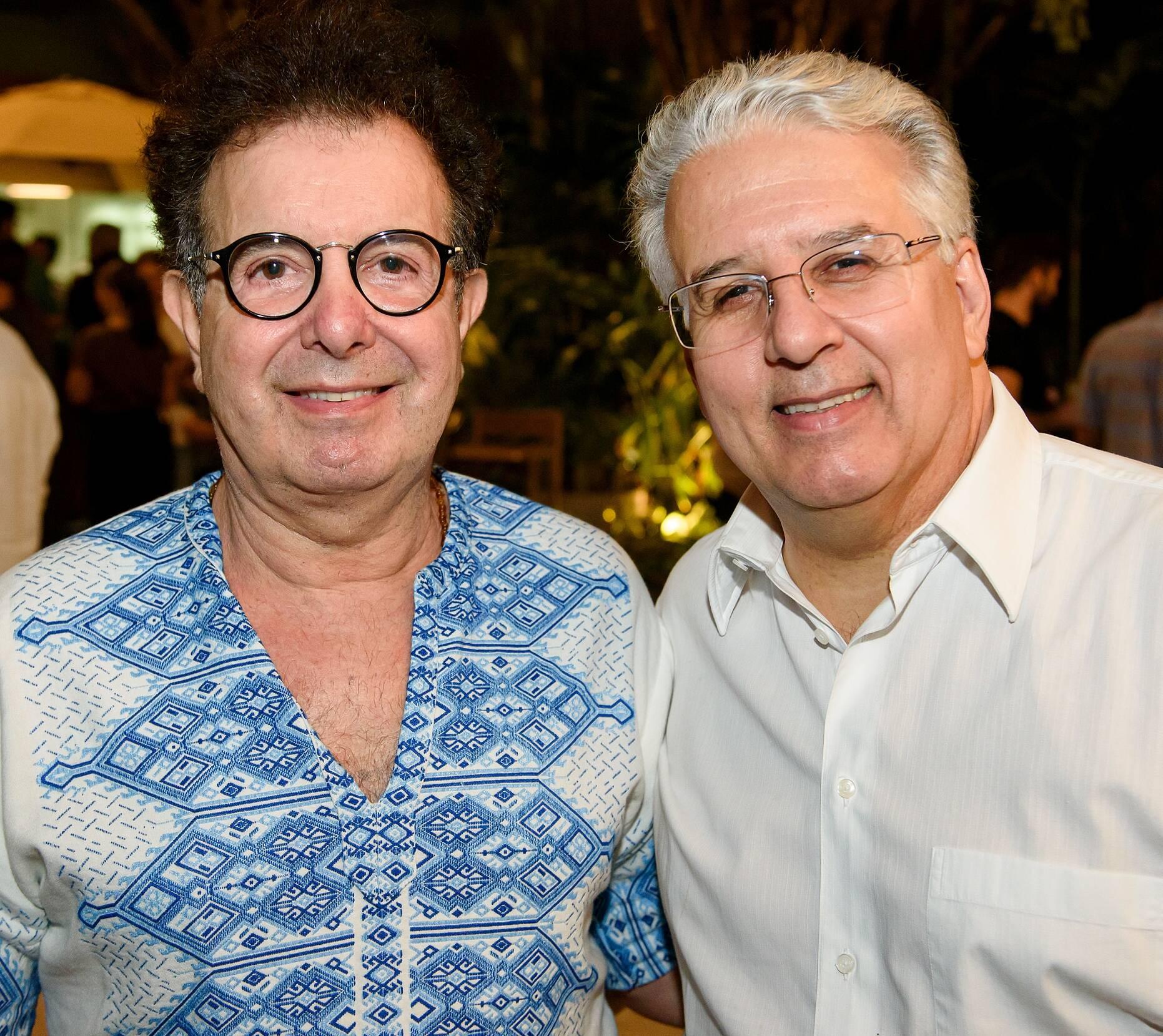 Baba Paulo de Oya e Edmundo Spolzino / Foto: RicaLucas