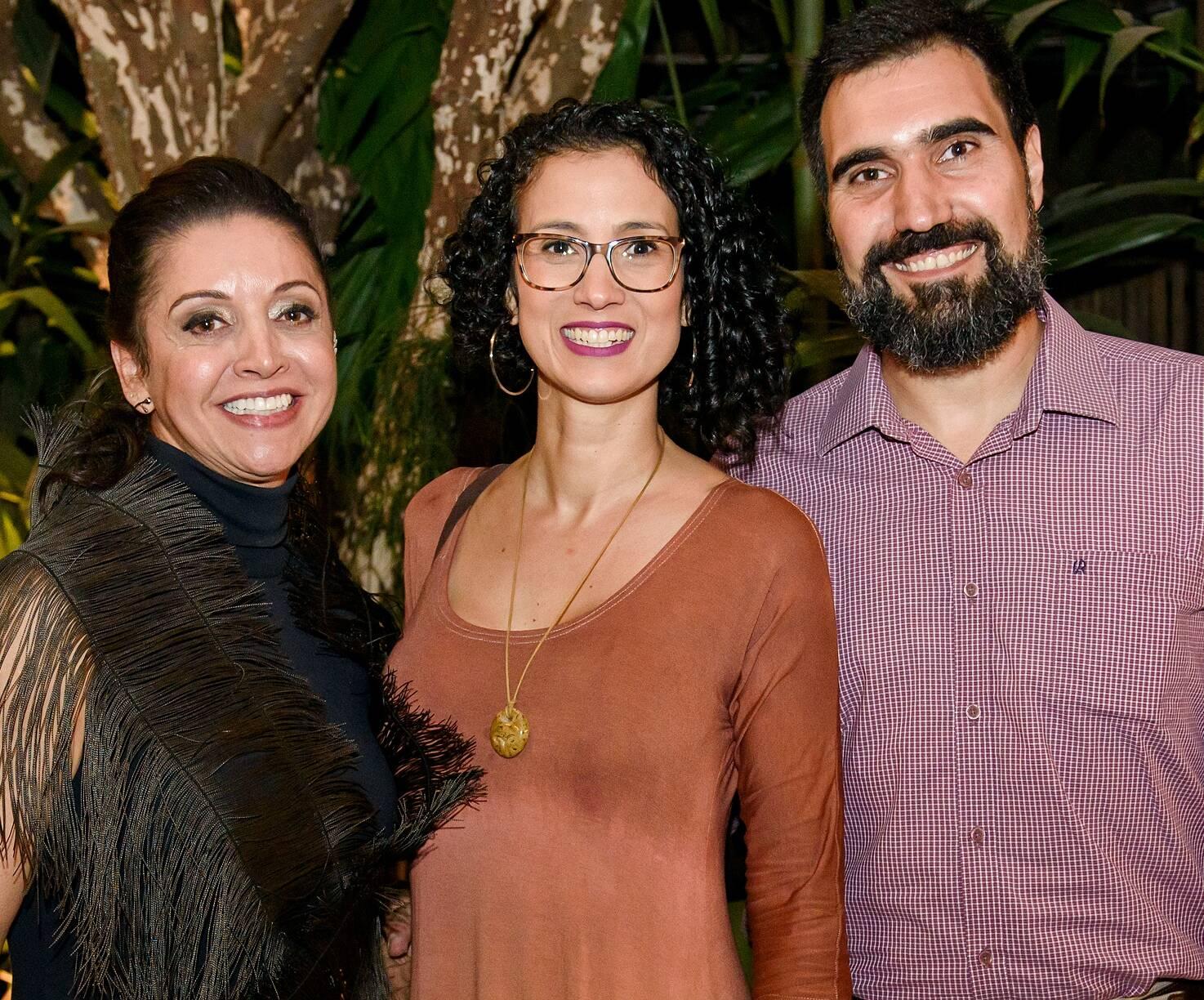Carla Oldemburg, Marilua Feitoza e Leo Aguiar / Foto: RicaLucas