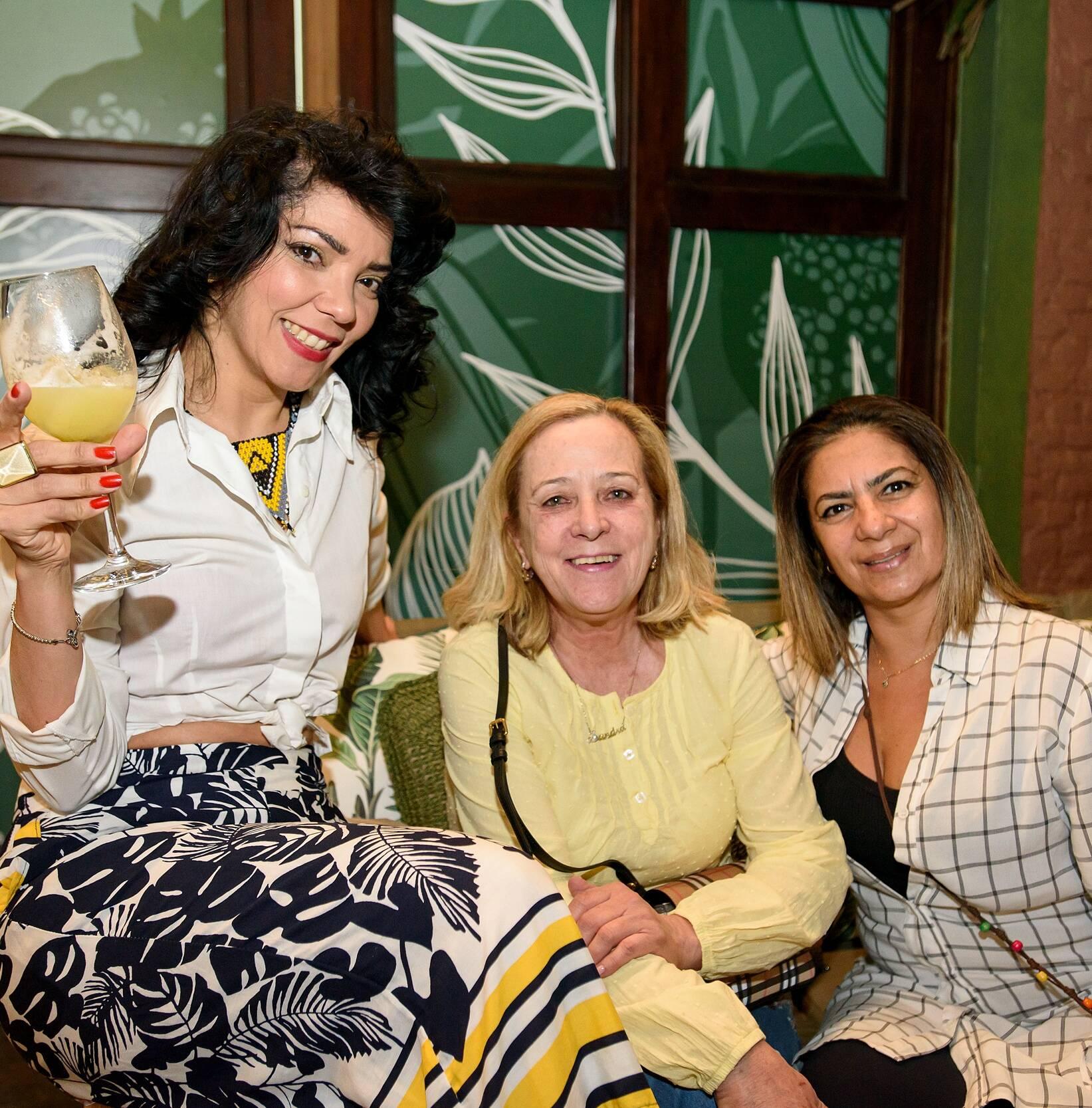 Elis Pessotti, Sandra Melenas e Beatris Junqueira / Foto: RicaLucas