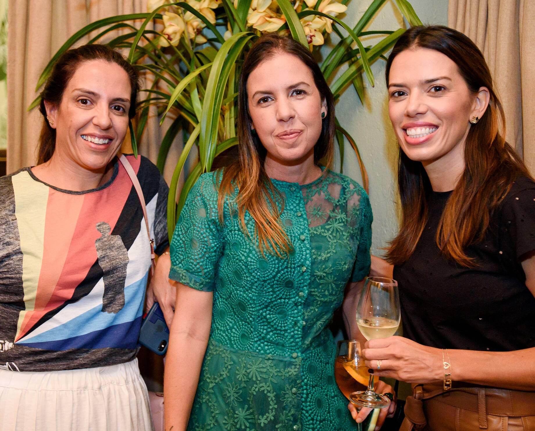 Elisa Tavares, Morena Leite e Gizella Luglio  / Foto: RicaLucas