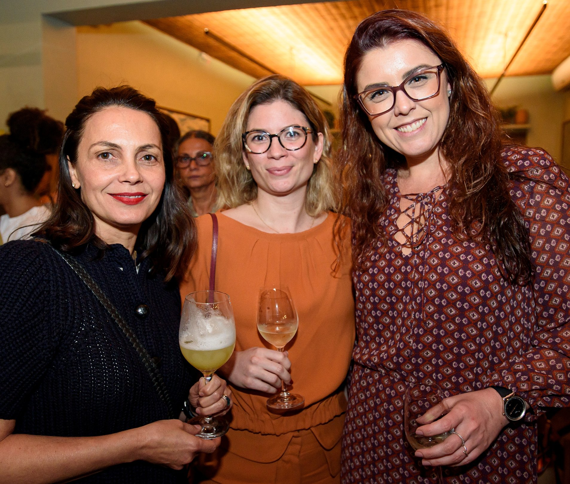 Joana Munne, Andrea sabino e Luana Cloper
