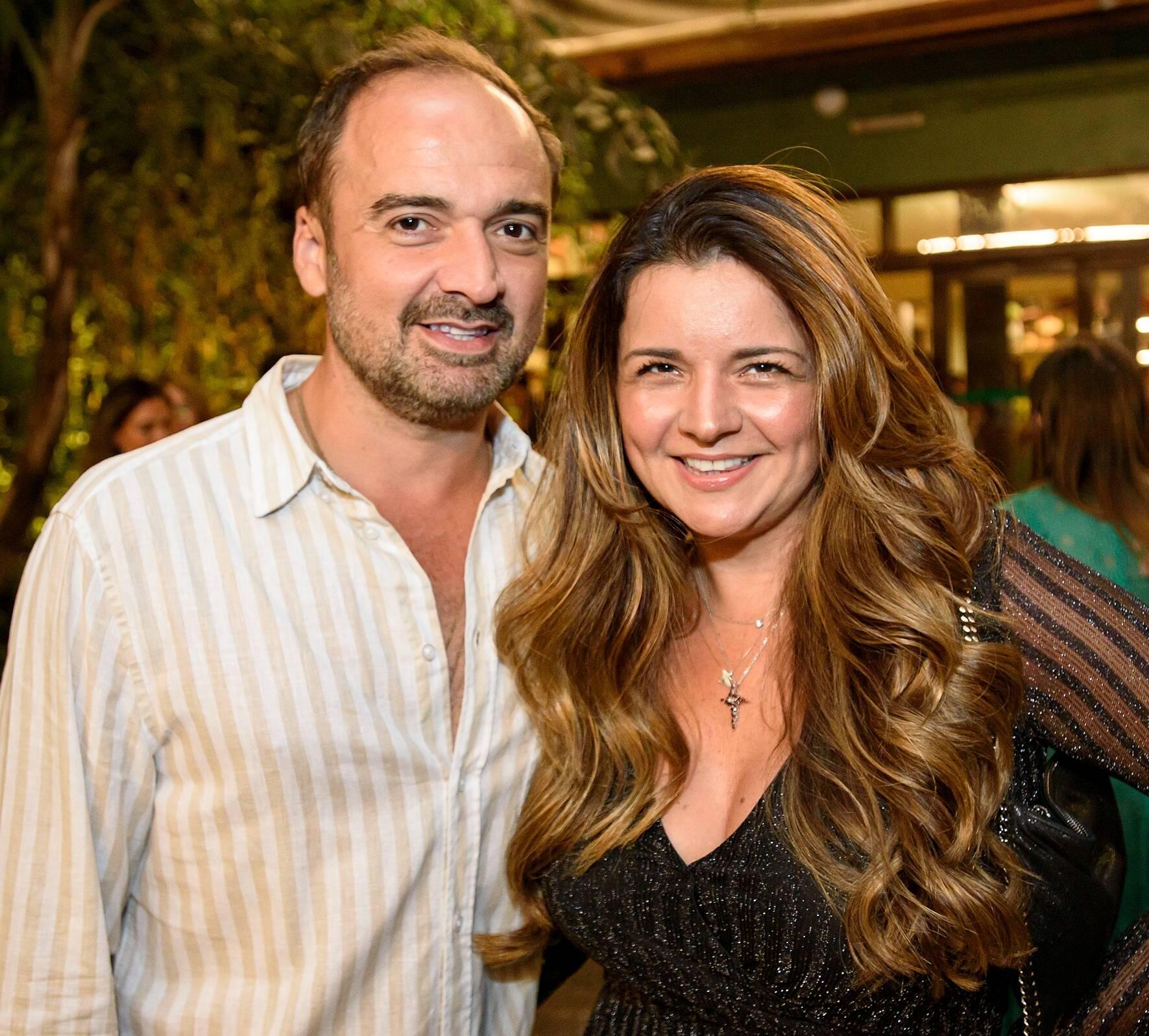 Junior Alexandre e Marcia Rostheuser / Foto: RicaLucas