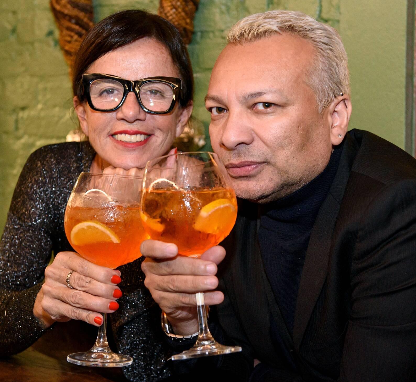 Marcia Paiva e Andre Veloso / Foto: RicaLucas