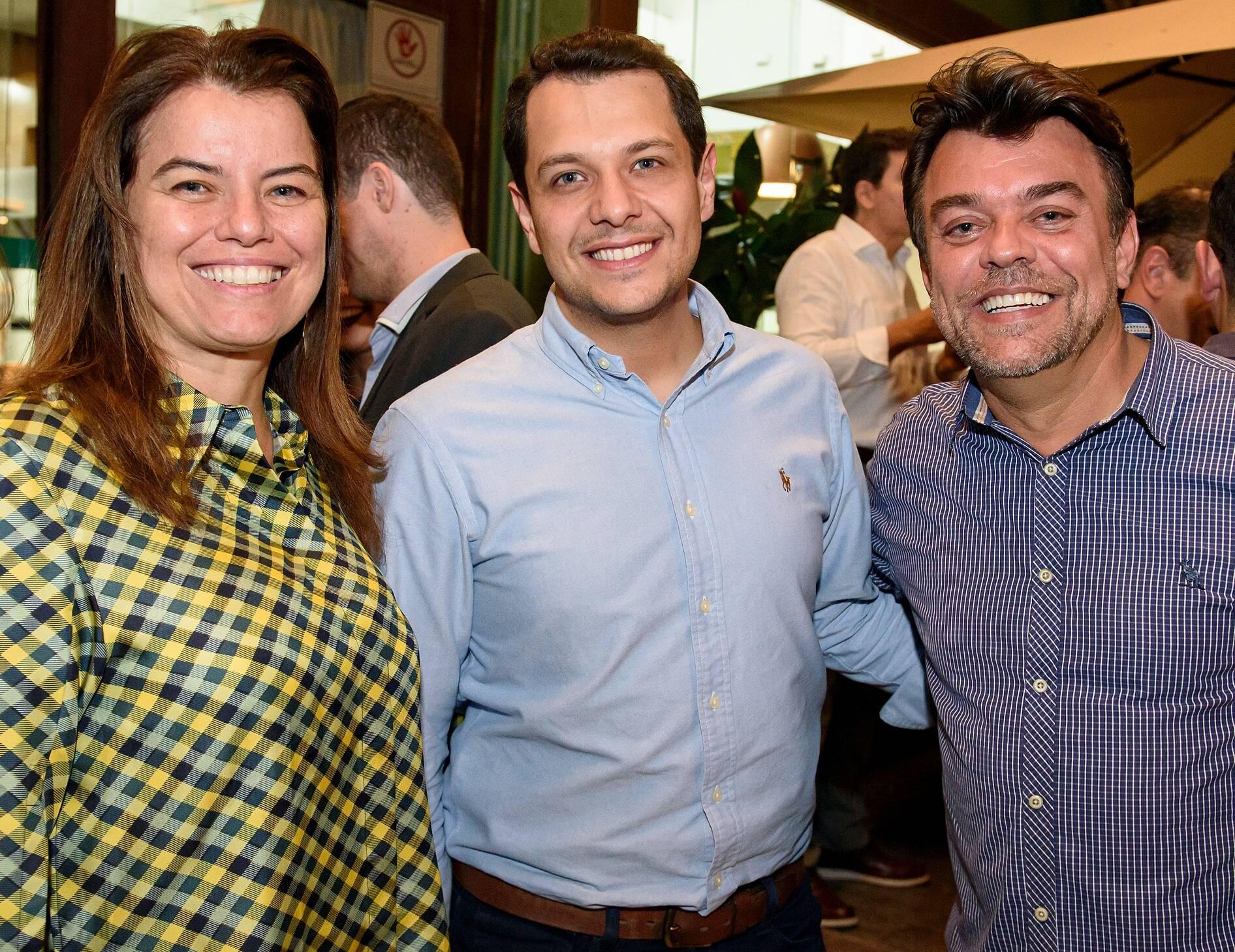 Paula Costa, Guilherme Martins, Ulysses Jayme / Foto: RicaLucas