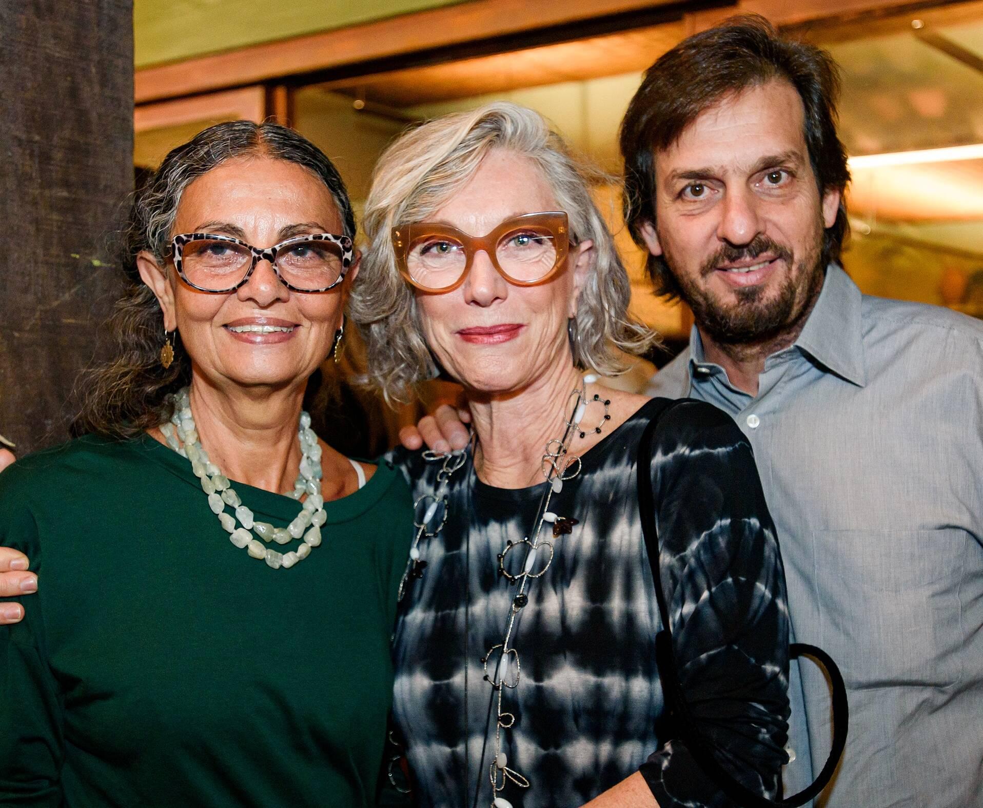 Sandra Marques, Renata Tilli e Danilo Candia / Foto: RicaLucas