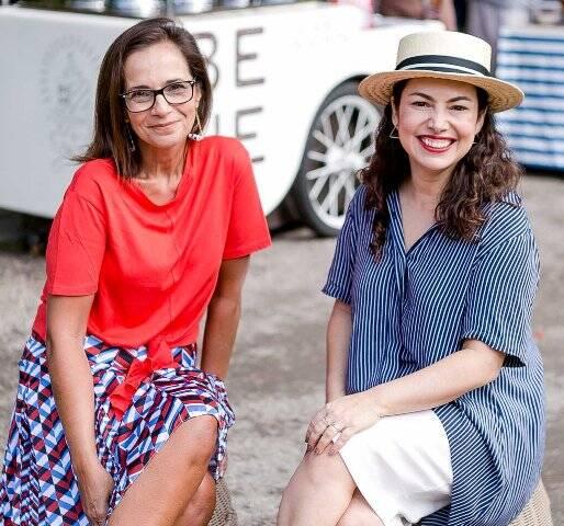 Andreia Lopes e Bárbara Heliodora