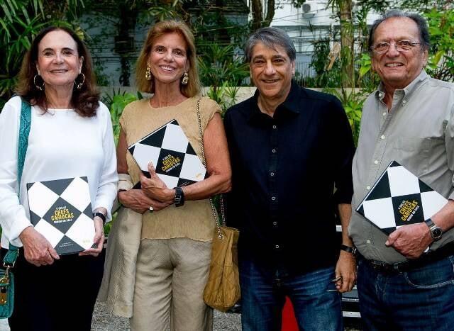 Beth Tranjan, Maria Celina Gomes, Ricardo Franjan e Bruno Garavaglia
