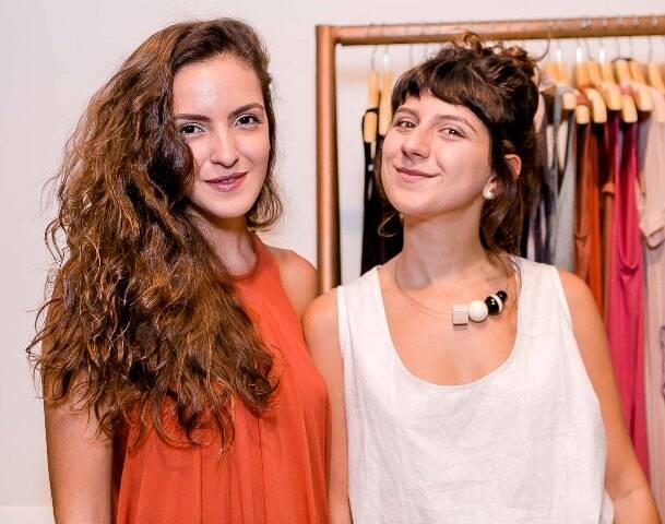Bruna Magalhães e Aisha Jacob