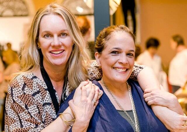 Cris Rosembaum e Marcia Kemp