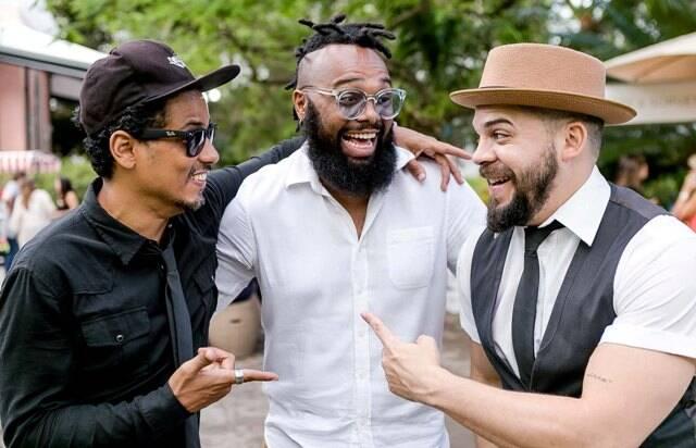 Fábio Santana Jr., Trakinas e Rafael Nascimento