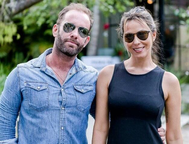 Léo Marçal e Adriana Lima