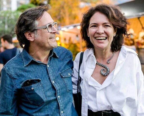 Paquito e Roberta Damasceno