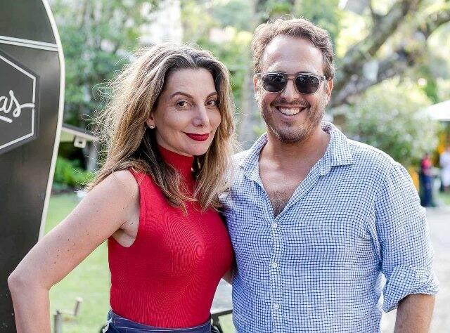 Renata Reis e Maxime Perelmuter