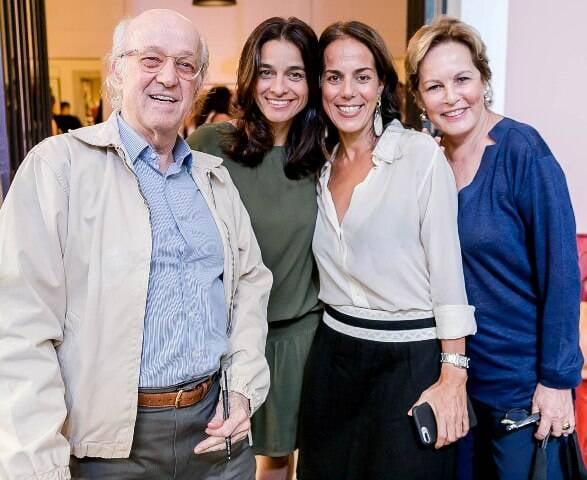 Rodolfo Garcia, Luiza Figueira de Mello, Claudia Garcia e Leila Teixeira Soares