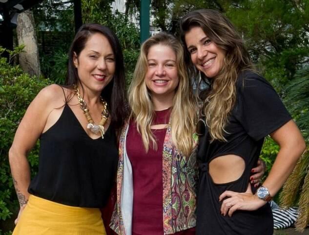 Tatiana Accioly, Alessandra Curvelo e Tatiana Dorf