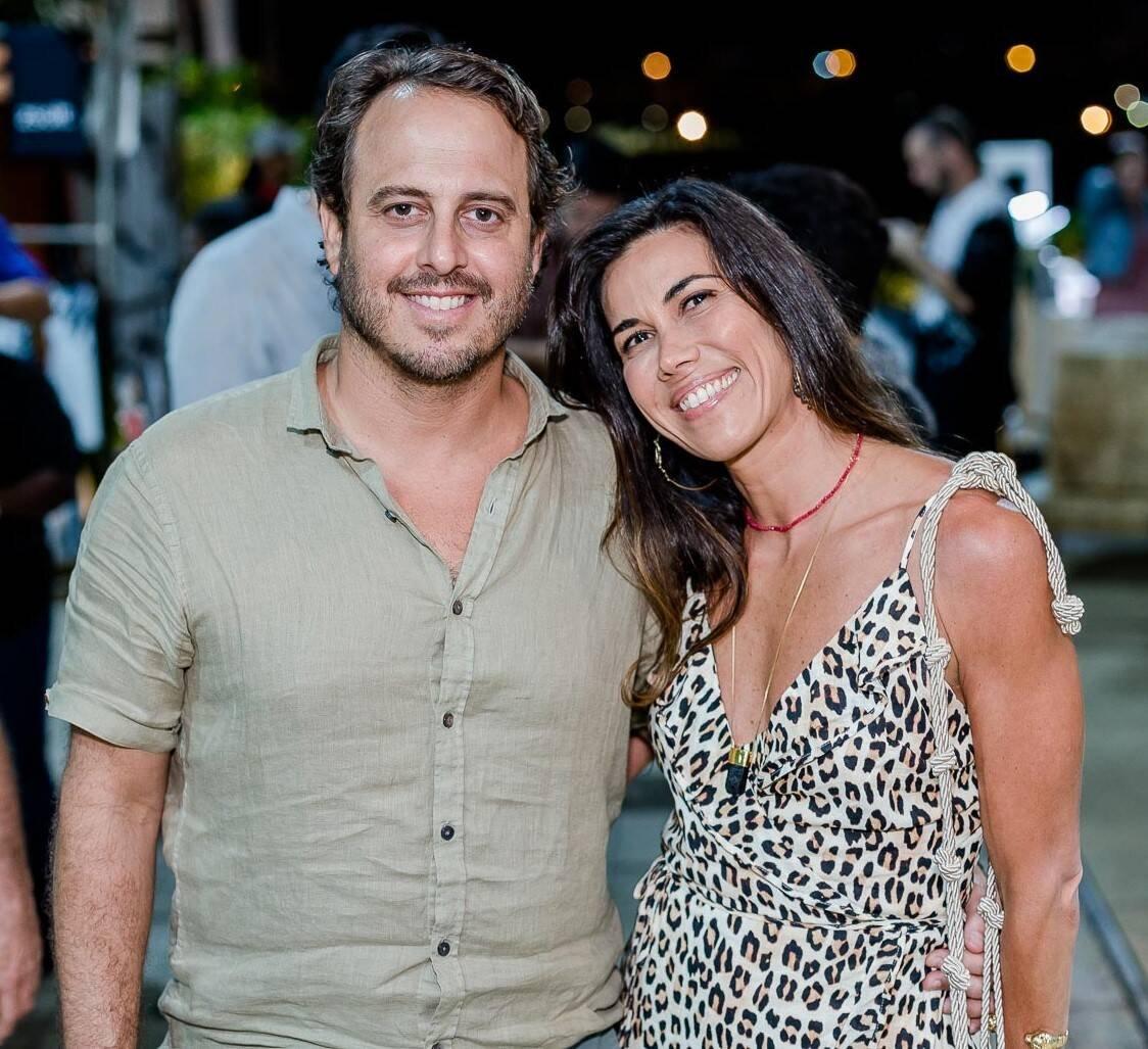 Maxime Perelmuter e Louise Luz /Foto: Bruno Ryfer