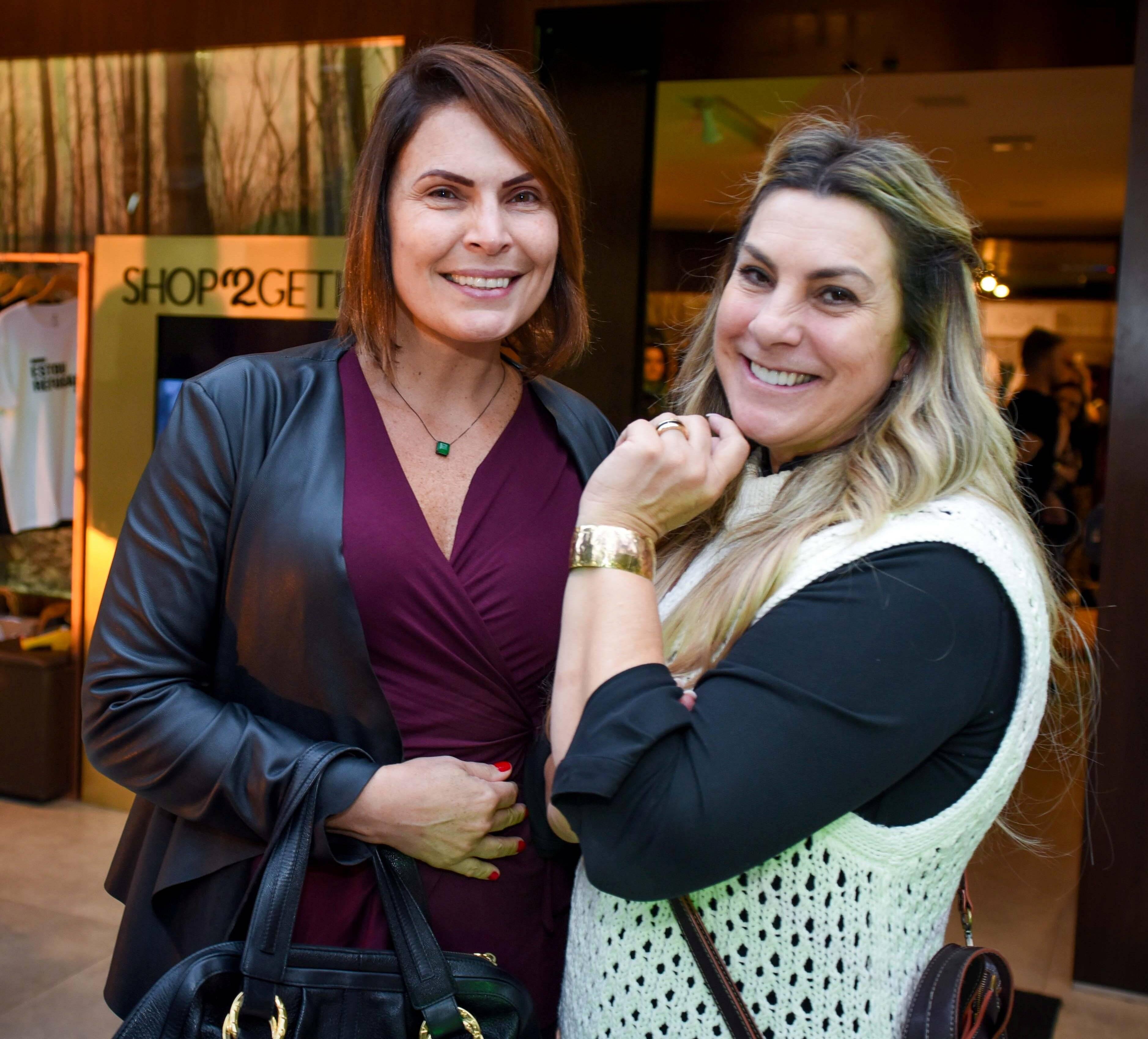 Laura Muller e Sandra Pitta /Foto: Bruna Guerra