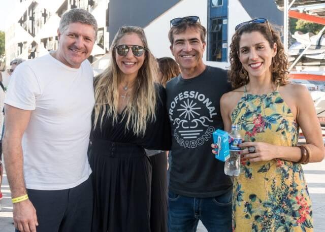 Fabio Villaverde, Regiane Cesnique, Carlos Burle e Ligia Burle