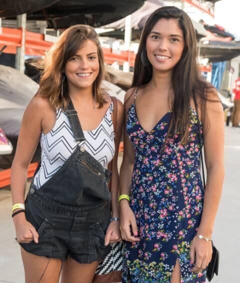 Fernanda Paixão e Dafnny Corty
