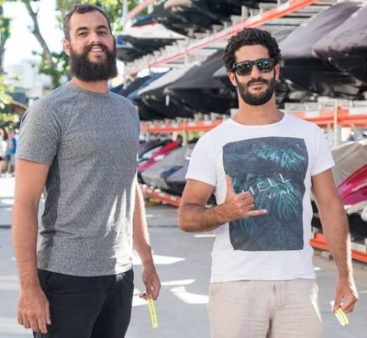 Hugo Matas e Alan Coutinho