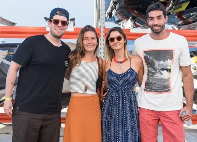 Marcos Freitas, Julia Toledo, Laura Martins e Guilherme Batista