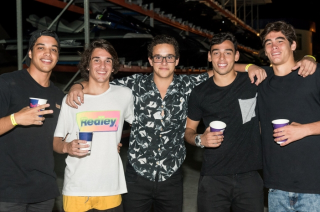 Thiago Mello, Pedro Pires, Nicolas Pires, João Xalfa e Joaquim Guedes
