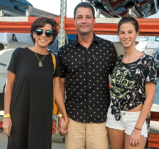 Renata, Tommy e Sofia Simon