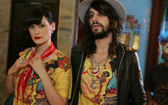 Mayana Moura e seu novo namorado, Guilherme Dalvi, marcaram presença em Recife