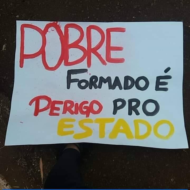 Manifestação em SP /Foto: Reprodução