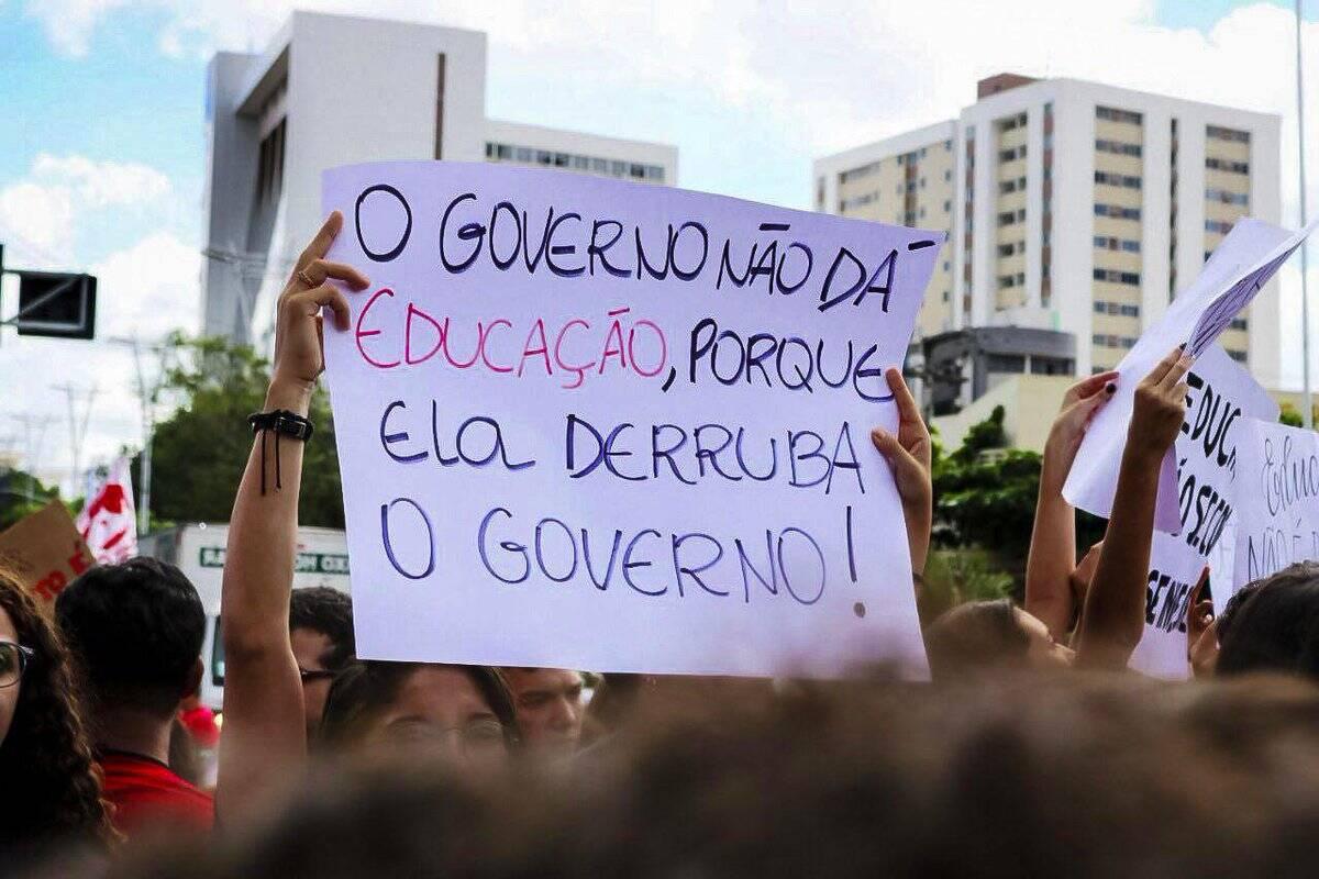 As imagens da manifestação pelo País /Foto: Reprodução