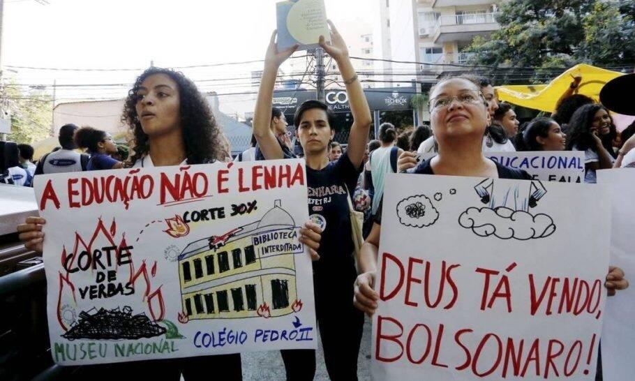 Os protestos nas ruas do Rio /Foto: Reprodução