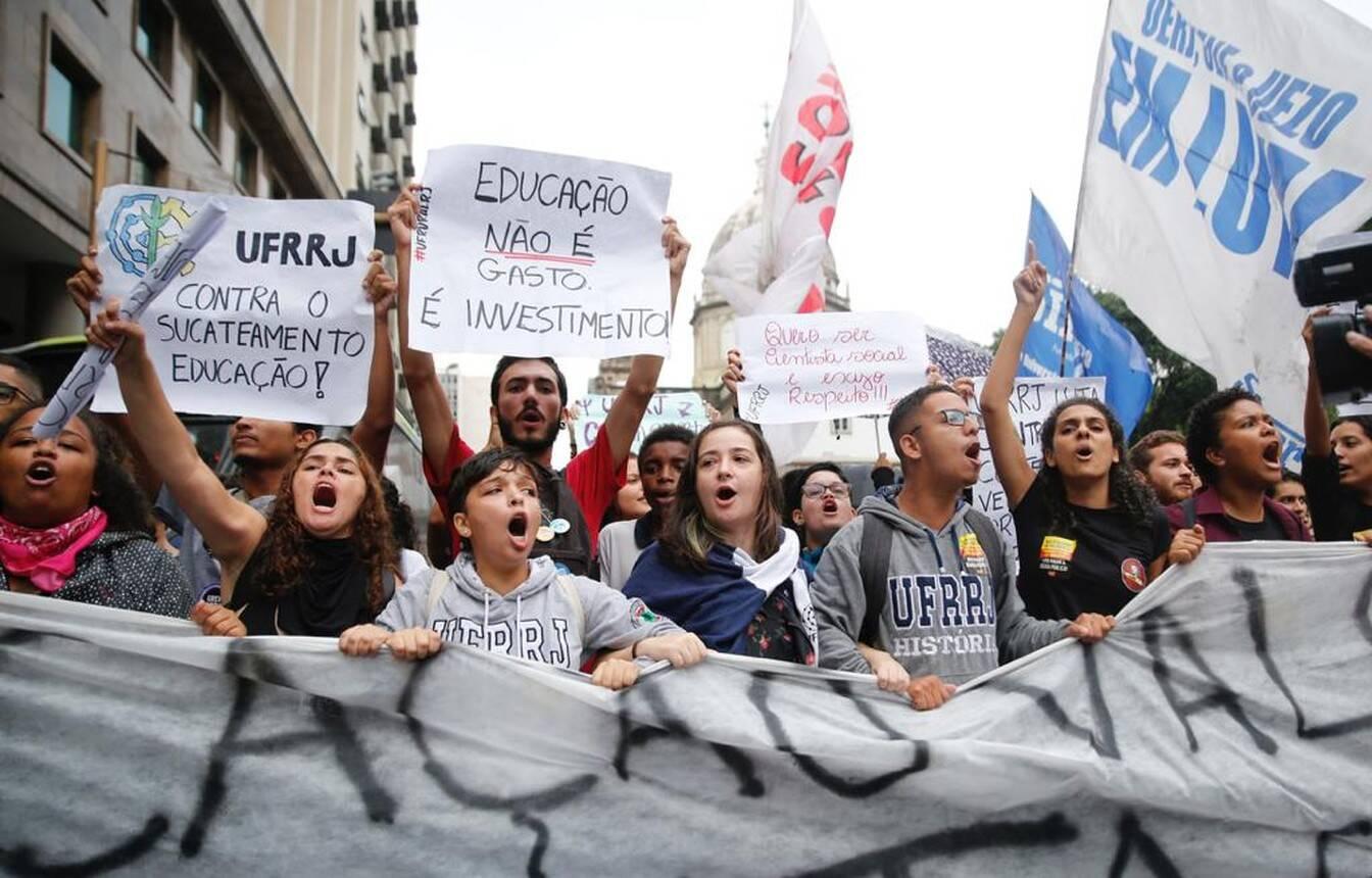 Nas ruas do Rio /Reprodução G1