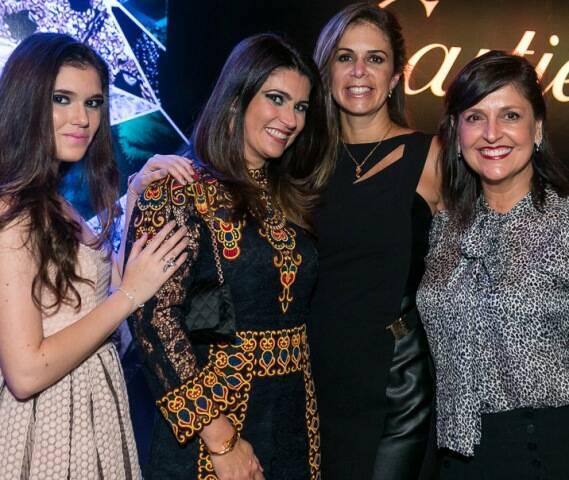 Carolina Leite, Simone Stockler, Adriana Delgado e Célia Sanclair