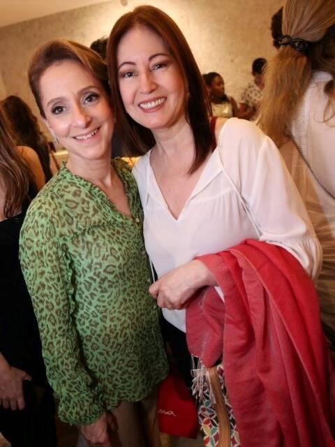 Ana Botafogo e Luh Fernandez
