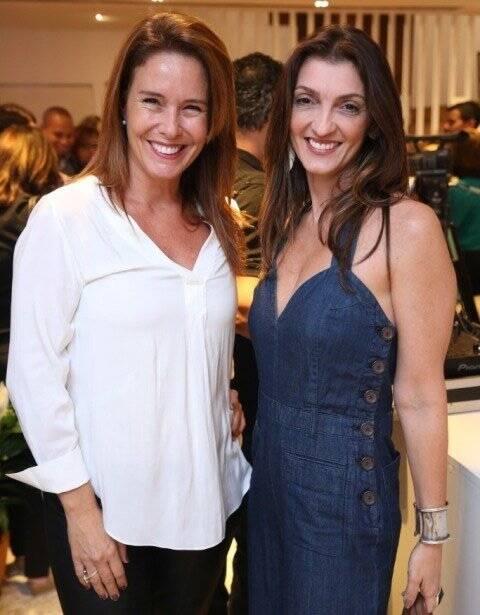 Carla Bellora e Letícia Azambuja Carvalho