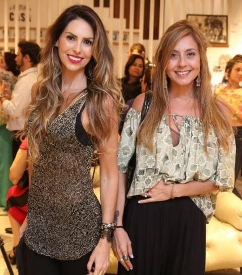Luiza Gomes e Vanessa Sagadaes