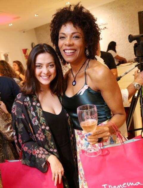 Polliana Aleixo e Lica Oliveira