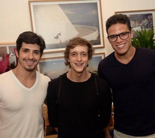 Igor Cosso, Gustavo Tibi e Marcos Lessa