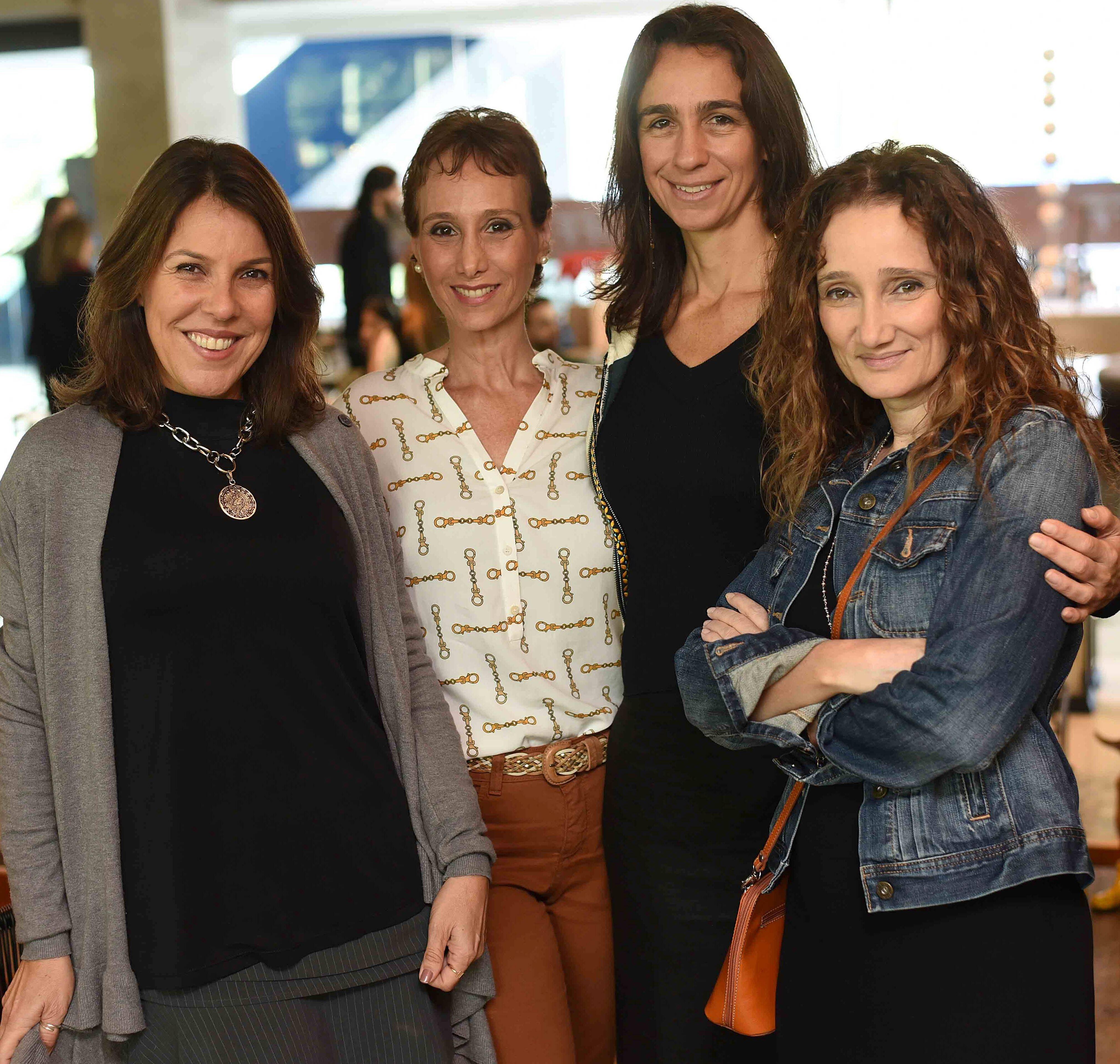 Andrea Neves Duarte, Luciana Nasajon, Mabel Graham e Andrea Menezes  / Foto: Ari Kaye