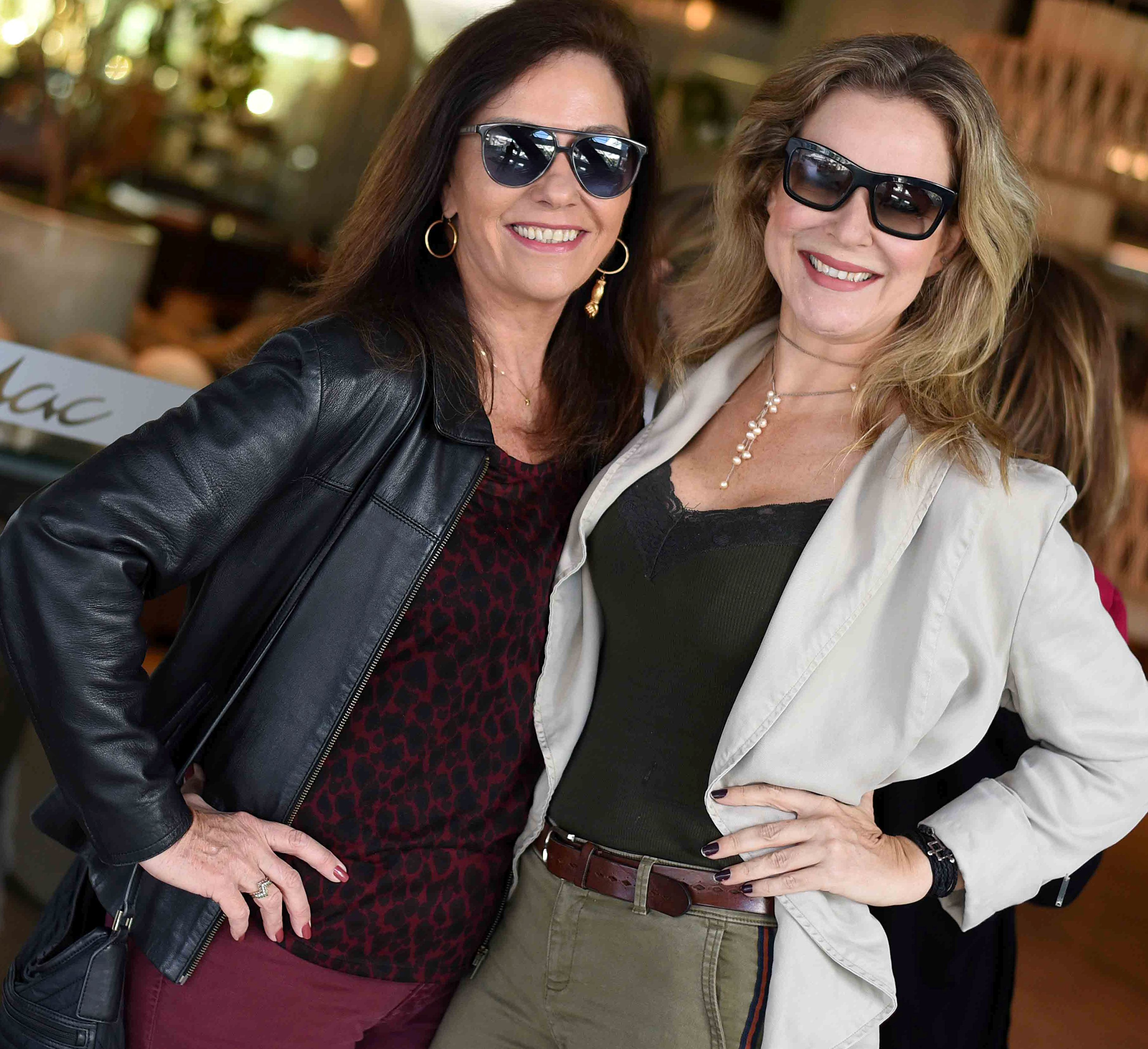 Beth Kalache e Cris Diniz  / Foto: Ari Kaye