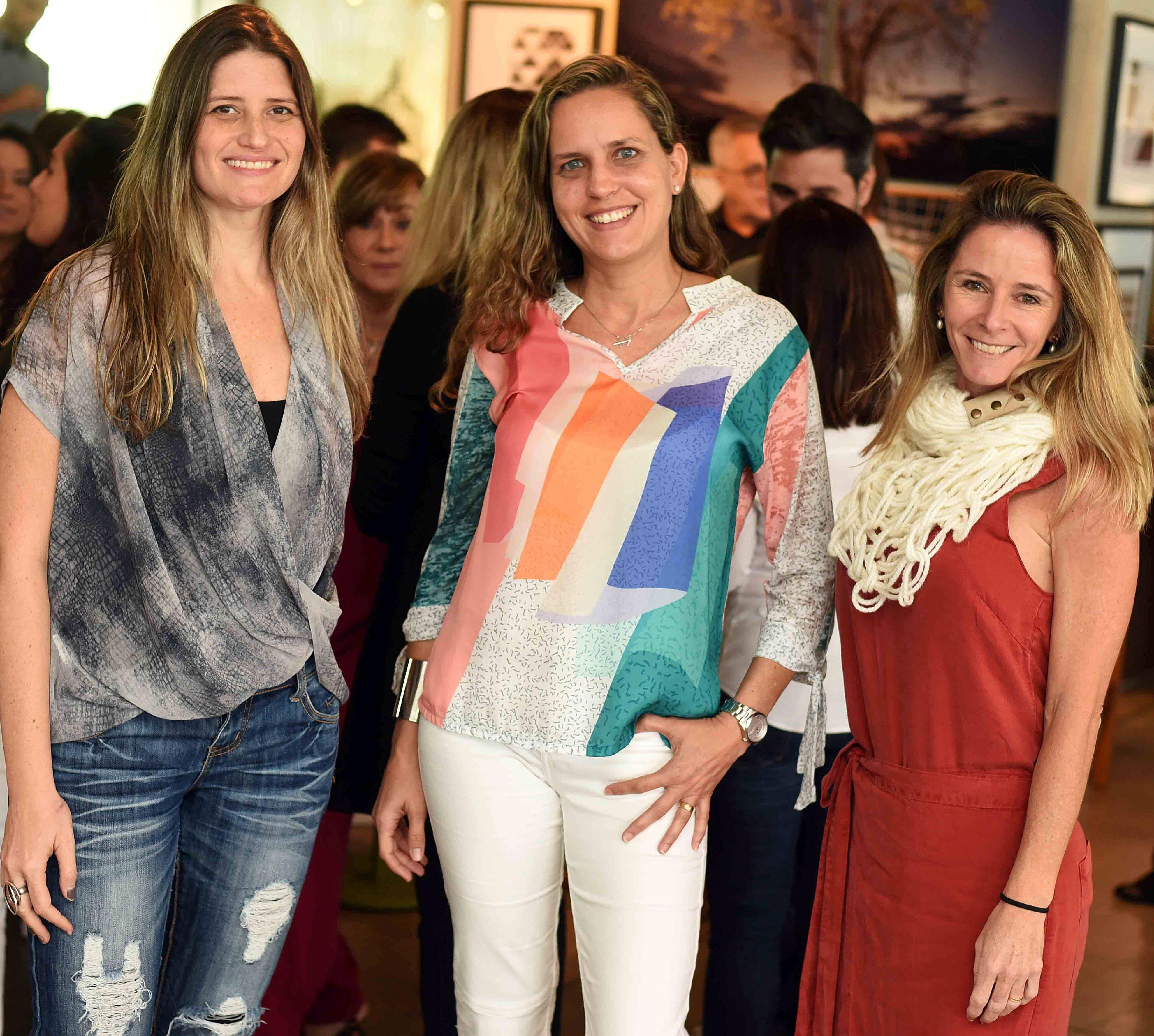 Denise Cadore, Aline Gerbassi e Paula Medina  / Foto: Ari Kaye