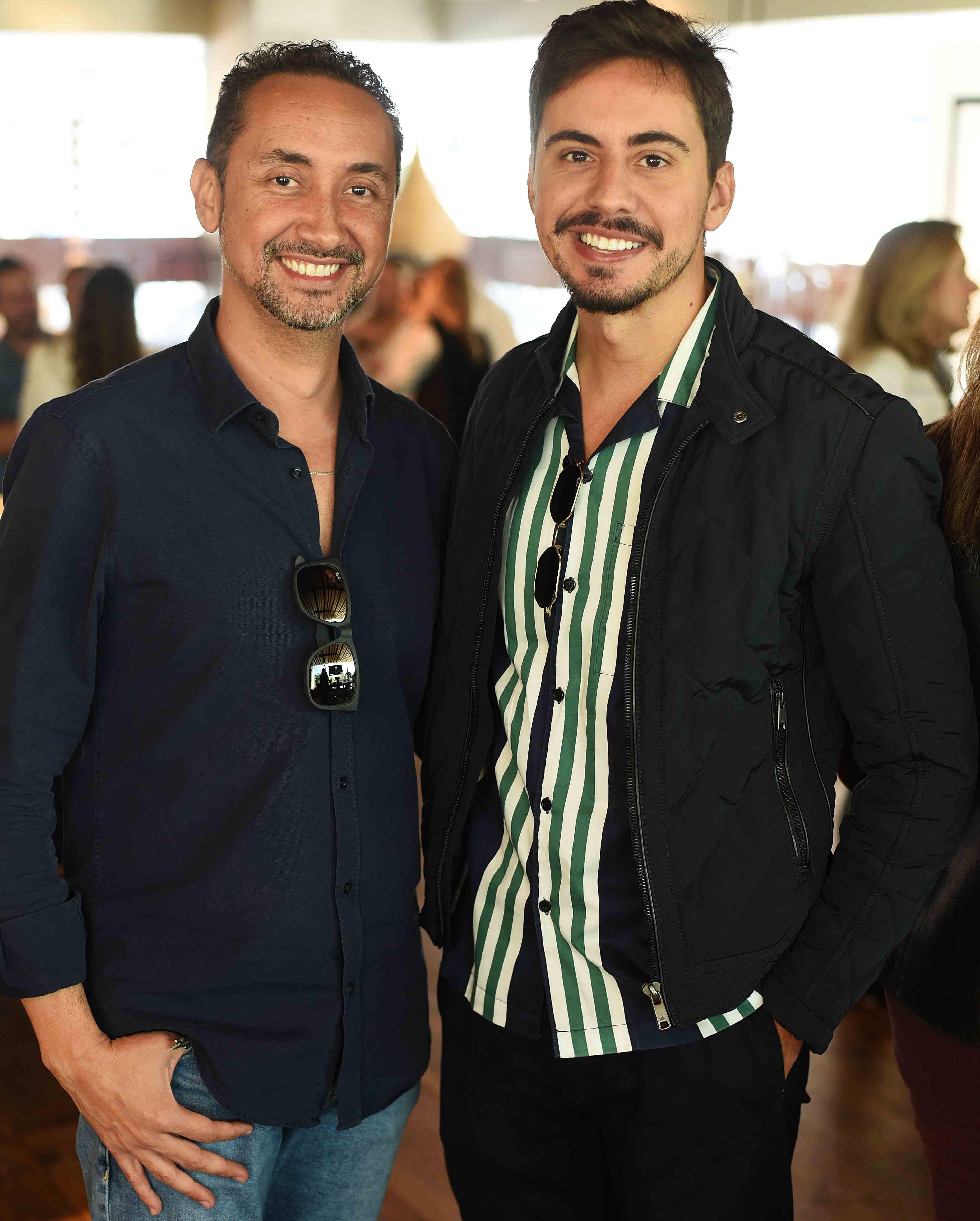 Emerson Araujo e Bernardo Gaudie  / Foto: Ari Kaye