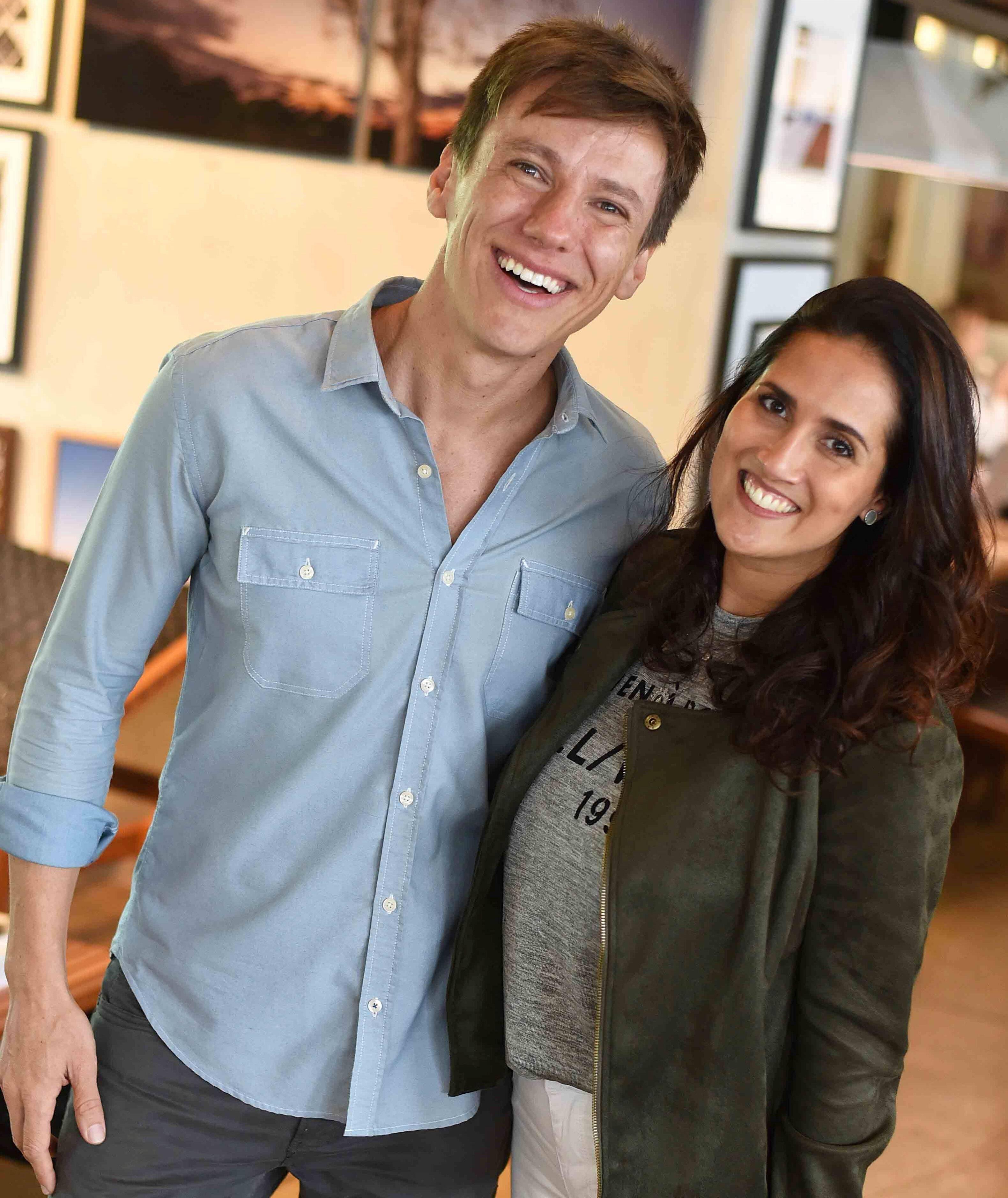 Felipe Suhre e Renata Villares  / Foto: Ari Kaye