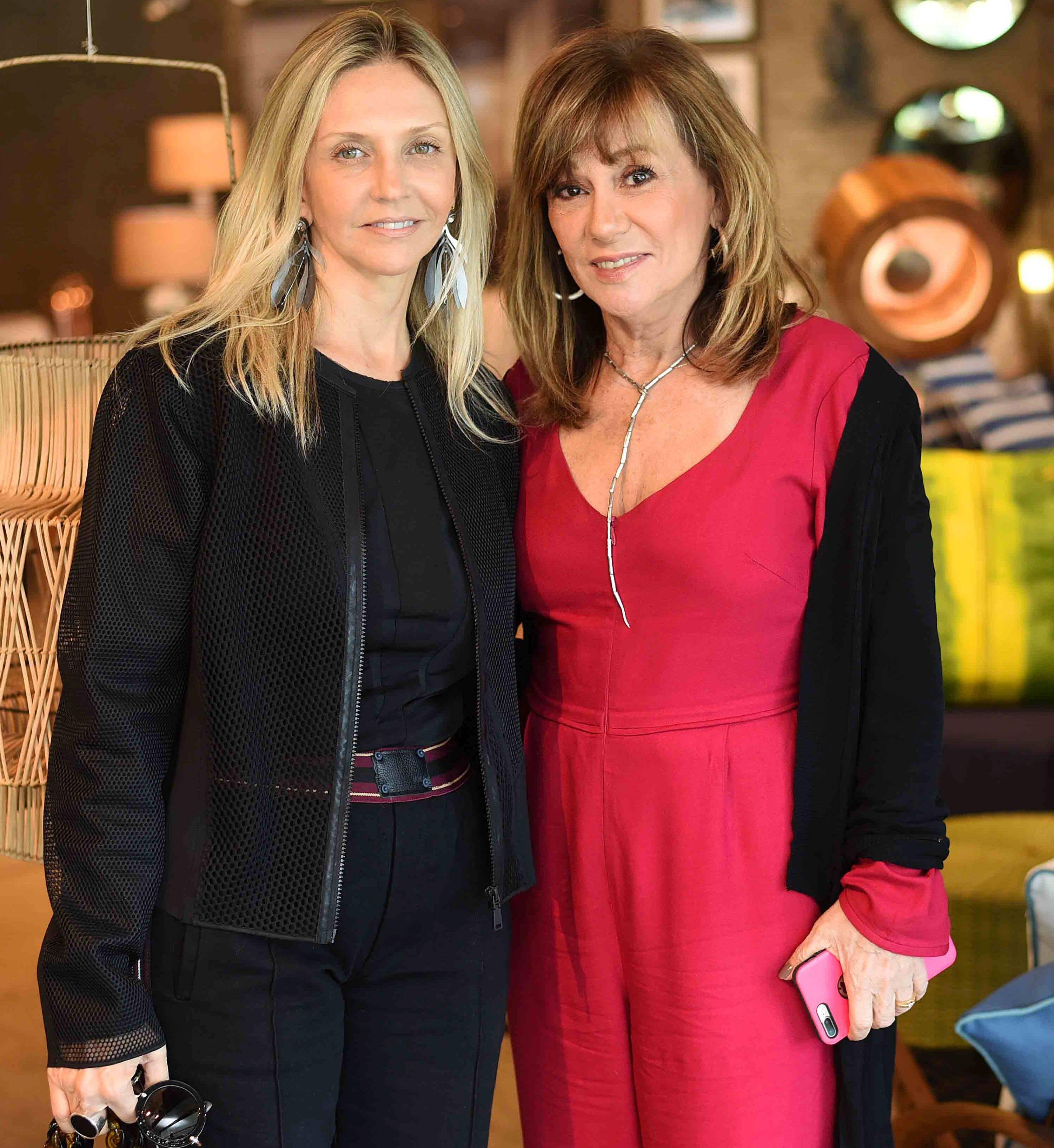 Raquel Alencar e Eva Taquechel  / Foto: Ari Kaye