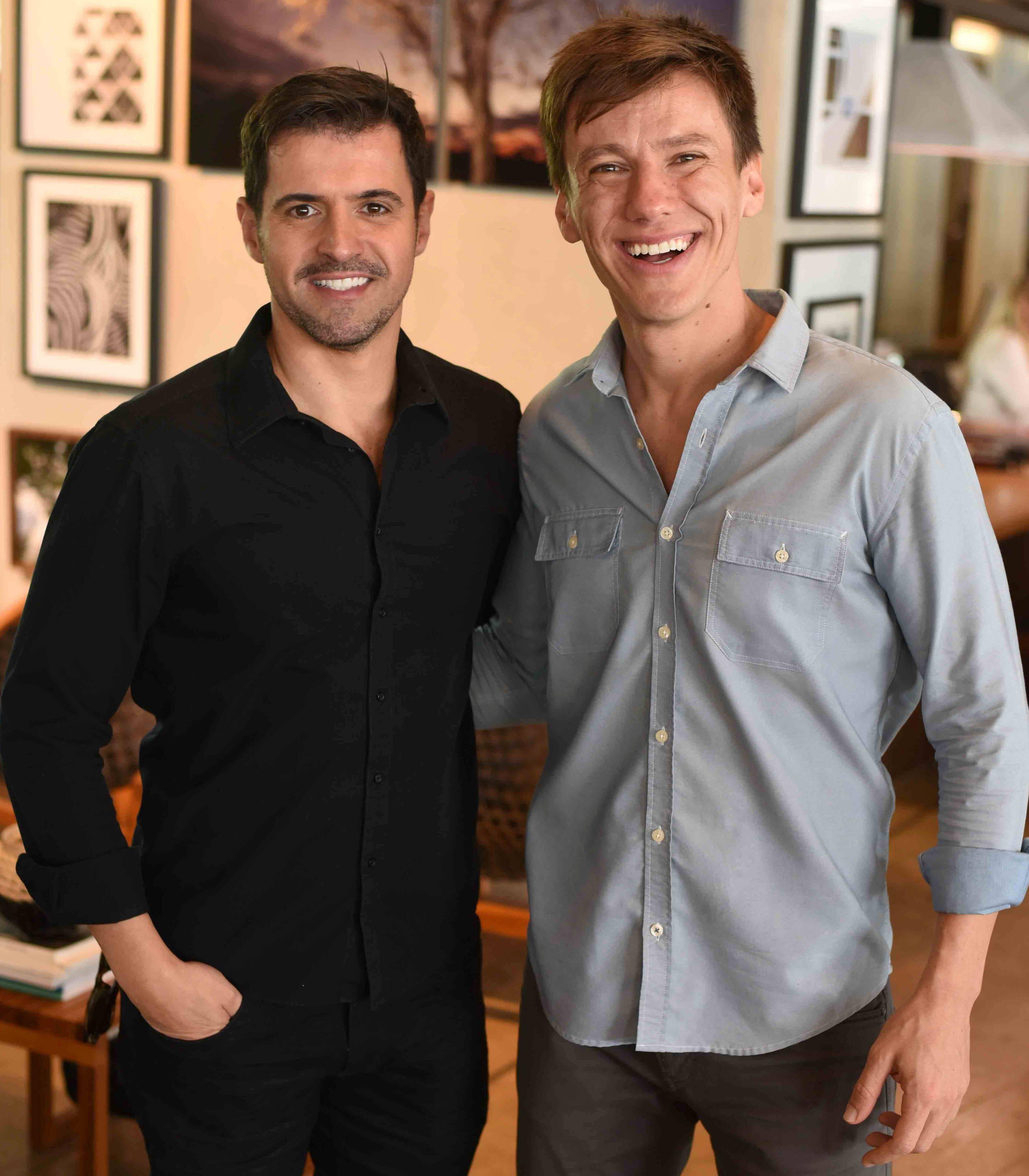 Rodrigo Barbosa e Felipe Suhre  / Foto: Ari Kaye